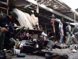 3 Orang tewas akibat Bom yang Meledak di Pasar Thailand