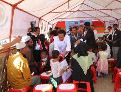 Presiden Joko Widodo Memberikan Bantuan Bagi Pengungsi Rohingya di Banglades