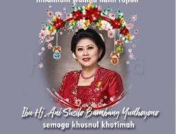 In Memoriam Ani Yudhoyono: The Journey of Spiritual Being