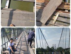 Terkait Jembatan Rusak, Kades Rumbio : Dalam Minggu Ini Akan Segera Diperbaiki