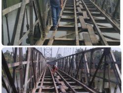Akhirnya Jembatan Gantung Desa Rumbio Yang Rusak Parah Direnovasi Pemerintah Kampar