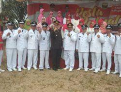 HUT RI ke 74 Kecamatan Kumpeh Berlangsung Khidmad