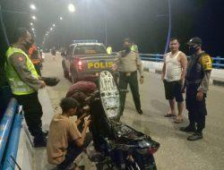Jajaran Polsek Sungai Sariak Lakukan Patroli Rutin, Sejak Di Berlakukannya New Normal.