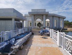 Terkait Proyek Pembangunan Masjid Asrama Haji Transit Babel Terhenti, Ini Kata PPK-nya