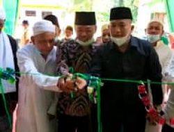 Resmikan Masjid Al-Hikmah Kelurahan Banjar XII , afrizal Sintong menaruh harapan agar masyarakat melaksanakan ibadah , tarawih , dan tadarus dimesjid.