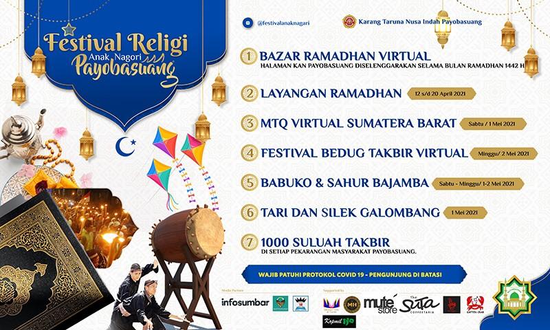 Semarakkan Festival Anak Nagari Payobasuang selama Ramadhan 1442H