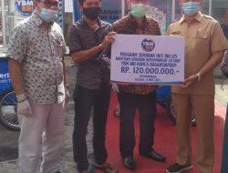 Bulan suci ramadhan 1442 H BRI Bagansiapiapi Salurkan Bantuan Program yayasan Baitul mall