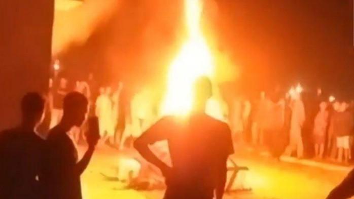 Pembakaran Mapolsek Candipuro
