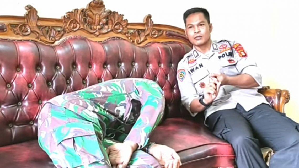 Mengejutkan, Prajurit TNI Tantang Anggota Brimob Hingga Datangi Rumah