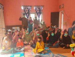 Kelurahan rimba melintang memberikan Santunan dompet anak yatim bulan suci ramadhan 1442 H untuk idul Fitri dan pendidikan
