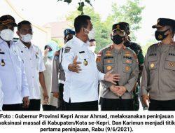 """Ansar Ahmad Dukung Program """"Nasi Kapau"""" untuk Pencapaian Target Vaksinasi"""
