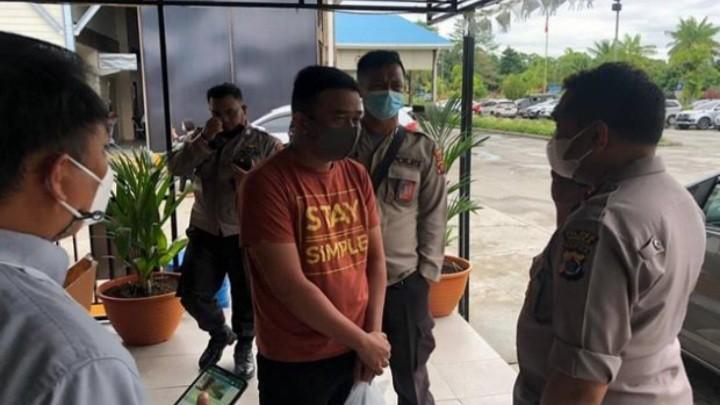 Anggota Brimob ini Kabur dari PT Freeport di tangkap saat Hendak Naik Pesawat