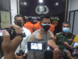Ditreskrimsus Polda Jambi Dan Polres Muaro Jambi Kembali Ringkus 3 Pelaku Illegal Loging