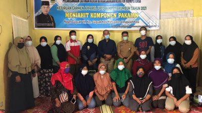 H. Nurkhalis Dt Bijo Dirajo Penuhi Janji Dengan Membuka Pelatihan Menjahit di Jorong Kuranji