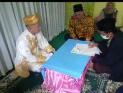 Resepsi Pernikahan Adik Ka.Biro CmCzone.com Tanjabtim Di Kecamatan Kumpeh Pakai Protokol Kesehatan