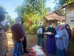 Polres Merangin Menyerahkan Bansos Dalam Rangka Memperingati Hari Bhayangkara ke-75 Tahun 2021
