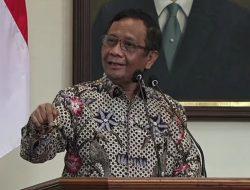 Heboh Wacana Presiden 3 Periode, Ini Pernyataan Mahfud MD!