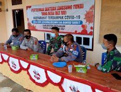 Dansatgas : Sinergitas TNI Polri Nyata Dalam TMMD Ke 111 Kodim 0420/Sarko