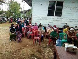 Vaksinasi Lansia Tahap 2 di Kantor Desa Tuo Kec.Lembah Masurai