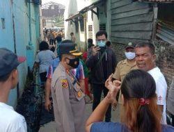 Polisi, TNI dan Warga Gotong Royong Bersihkan Gereja, Rumah, Terkena Dampak Tawuran Pemuda