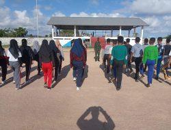Babinsa Beri Pelatihan pada Anggota Paskibraka di Taliabu