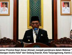 Ansar Ahmad : Bisnis dan Ekonomi Syariah di Kepri Bakal Berkembang Pesat