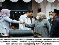 RPJMD Provinsi Kepri 2021-2026 : Terwujudnya Kepulauan Riau yang Makmur, Berdaya Saing, dan Berbudaya