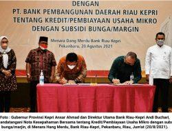 Gandeng Bank Riau-Kepri, Pemprov Kepri Berikan Pinjaman Lunak Tanpa Bunga