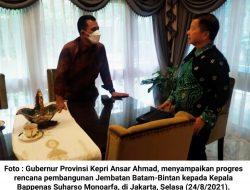 Ansar Ahmad Temui 4 Menteri Terkait Pembangunan di Kepri, dan Akan Temui Presiden Untuk JBB