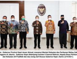 KKP RI Dukung Penuh Program Nasional Di Kepri