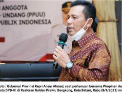Ansar Ahmad : RUU Daerah Kepulauan Berikan Formula yang Adil untuk Pembangunan