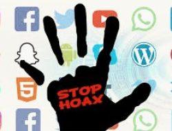 Stop! Sebarkan Berita Hoax