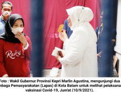 Marlin Agustina Tinjau Vaksinasi di 2 Lapas