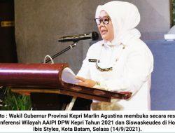 Marlin Agustina Berharap AAIPI Ikut Kawal Pembangunan di Kepri