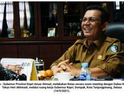 Ansar Ahmad dan Dubes KBRI Tokyo Bahas Rencana Pembangunan Pelabuhan Samudera Teluk Buton