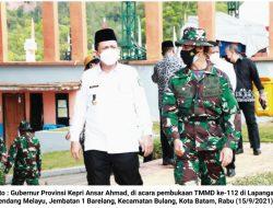 Ansar Ahmad : TMMD Wujud Sinergi Membangun Negeri