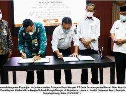Bunga Ditanggung Pemprov Kepri, UMKM Sudah Bisa Pinjaman Lunak di Bank Riau-Kepri