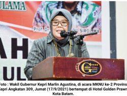 Marlin Agustina Minta Dukungan NU Bangun Kepri