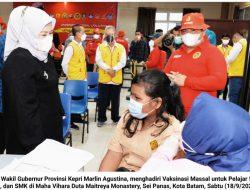 Pesan Marlin Agustina : Sekolah Tatap Muka Dimulai, Semua Tetap Patuh Protokol Kesehatan