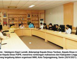 Bahas Dampak Pertambangan di Lingga, Lamidi Terima Audiensi IMKL Tanjungpinang