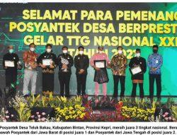 Kado Ultah Buat Kepri dari Posyantek Desa Teluk Bakau