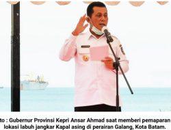 Ansar Ahmad Surati Menteri Perhubungan : Perihal Retribusi Pelayanan Kepelabuhanan