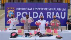 Empat Orang Kawanan Rampok Mesim ATM Di Kabupaten Rohul, Ditangkap Polisi