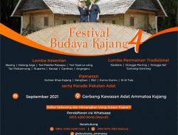 Festival Budaya Kajang 4 Dibuka Andi Utta Di Tanah Kamase-Masea