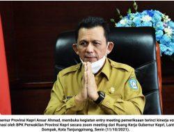 Ansar Ahmad: Hasil Pemeriksaan BPK Bagian Ikhtiar Pemprov Kepri untuk Berbenah