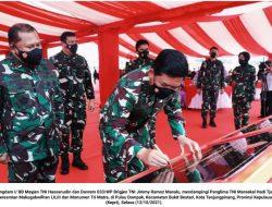 Panglima TNI Resmikan Makogabwilhan dan Monumen Tri Matra
