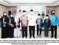 Masuk 10 Besar Nasional di STQH XXVI Malut, Ansar Ahmad Apresiasi Perjuangan Kafilah Kepri