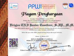 PPWI Apresiasi Brigjen TNI Junior Tumilaar Bela Babinsa Dan Rakyat Kecil