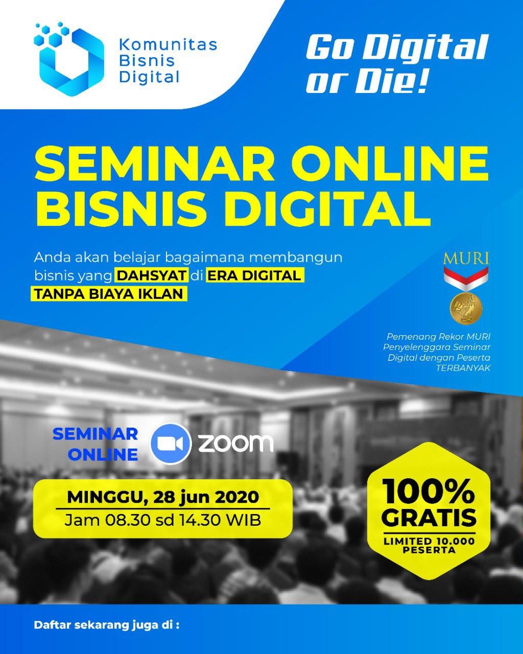 Dahsyatnya Bisnis Online Di Era Digital Cmczone Com
